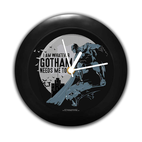 DC Comics I Am Whatever Ghotam Needs Me to Be Table Clock