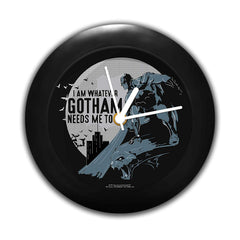 DC Comics -I Am Whatever Ghotam Needs Me to Be Table Clock Gift Set Birthday Gift