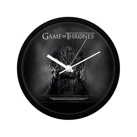 Game of Thrones Iron Throne Wall Clock