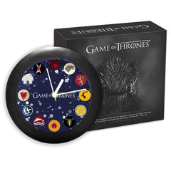 Game of Thrones All Houses Table Clock