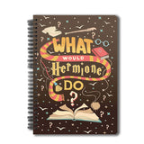 "Harry Potter Notebook"" What Would Hermione Do-A5"
