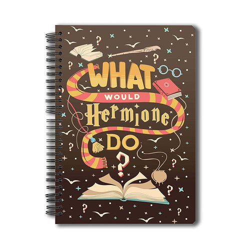 Harry Potter What Would Hermione Do Notebooks | Size A5