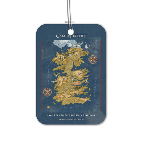 Redwolf Game of Thrones Cersei Map Luggage Bag/Suitcase Tag