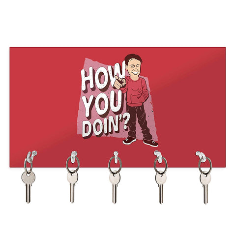 Friends Tv series - How you Doin- Design Keychain Holder