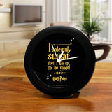 Harry Potter - I Solemnly Swear Table Clock