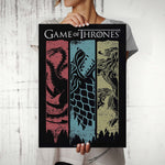 Game of Thrones Flag Poster