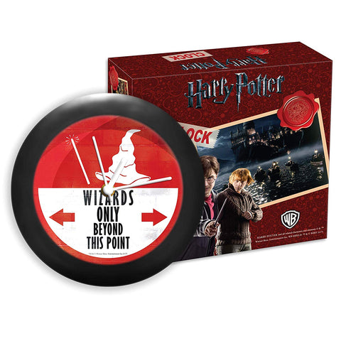 Harry Potter - Wizard Only Table Clock