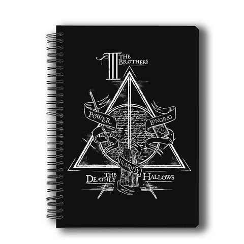 Harry Potter Triangle A5 Notebook