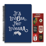 Harry Potter Combo Pack of 2 Leviosa Notebook and Magnetic Bookmarks