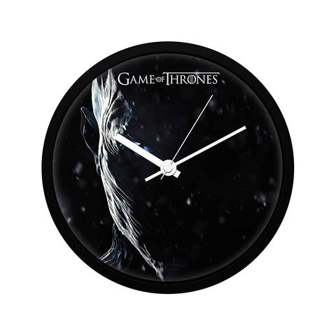 Redwolf Game of Thrones Night is King  Wall Clock