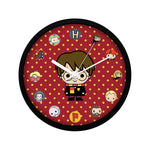 Harry Potter Cartoon Character  Wall Clock