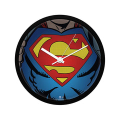 "DC Comics- Superman Revealed ""Wall Clock Gift Set Birthday Gift"