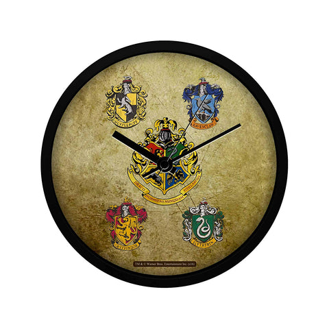 Harry Potter Hogwarts House Crest 2 , Wall Clock