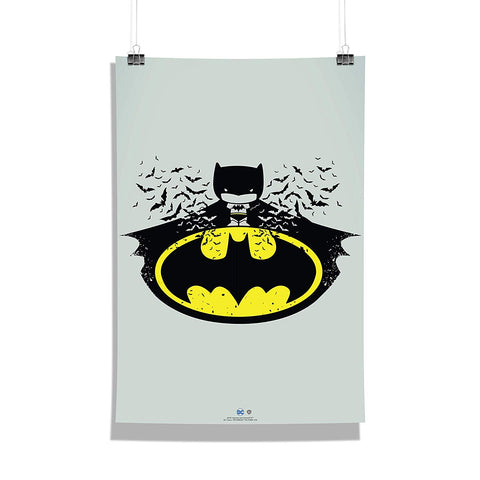 DC Comics Batman Chibbi Poster