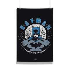 DC Comics-Batman The Dark Night Wall Décor Poster | Poster for Home | Poster for Office |[ Frame Not Included ] Size A3 [12 x 18 inchs ]