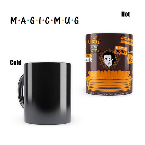 FRIENDS Orange Infographic - Heat Sensitive Magic Mug
