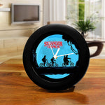 Stranger Things Table Clock of Full Moon