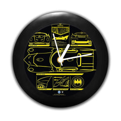 DC Comics -Batman- Batmobile Table Clock Gift Set Birthday Gift