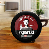Big Bang Theory TV Series - Live Long | Table Clocks