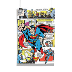 DC Comics-Comic Superman Wall Décor Poster | Poster for Home | Poster for Office |[ Frame Not Included ] Size A3 [12 x 18 inchs ]