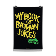 DC Comics-My Book of Batman Jokees Wall Décor Poster | Poster for Home | Poster for Office |[ Frame Not Included ] Size A3 [12 x 18 inchs ]