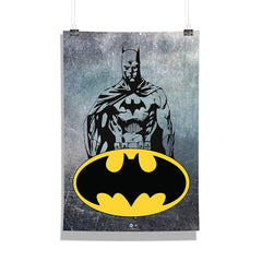 DC Comics-Grunge Batman  Wall Décor Poster | Poster for Home | Poster for Office |[ Frame Not Included ] Size A3 [12 x 18 inchs ]