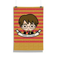 "Harry Potter-""Chibbi 2 "" Wall Poster Calendar for Living Room,Office [ Frame Not Included ] Size A3 [12 x 18 inches ]"
