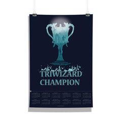 "Harry Potter-""Triwizard"" Wall Poster Calendar for Living Room,Office [ Frame Not Included ] Size A3 [12 x 18 inches ]"