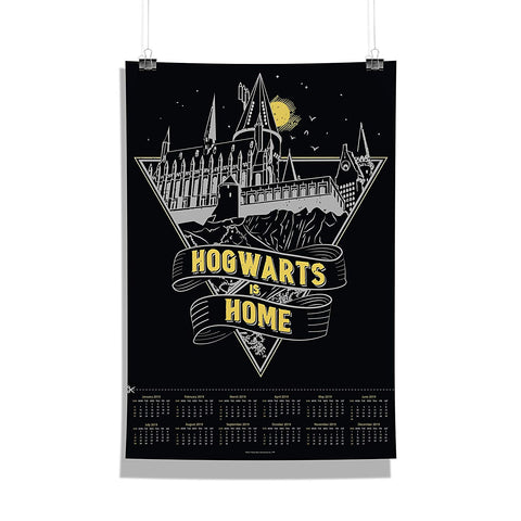 Harry Potter Hogwarts is Home Poster