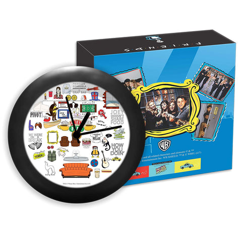 Friends Tv Series Doodle Table Clocks