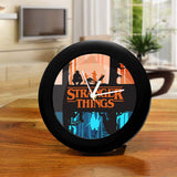Stranger Things Table Clock of Two World