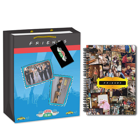 Friends TV Series Collage (A5 Notebook+Gift Bag)