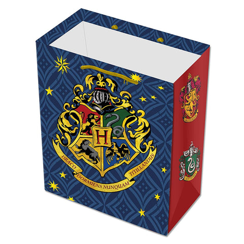 Harry Potter Hogwarts House Crest Gift Bag 20 Pieces - Birthday Decor/Theme Party