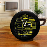 DC Comics Batman Bat-mobile Table Clock