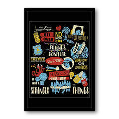 Satranger things poster