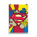 DC Comics Superman Comic Logo Poster