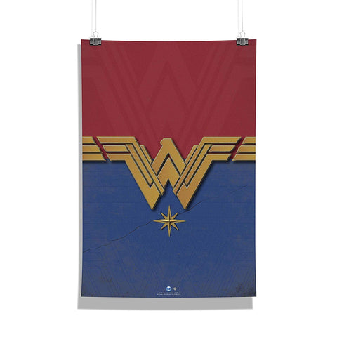 DC Comics Wonder Woman Logo Poster