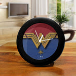 DC Comics Wonder Woman Logo Table Clock