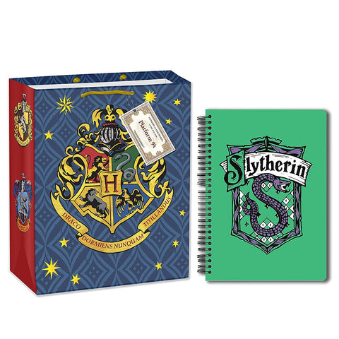 Harry Potter Slytherin (A5 Notebook+Gift Bag)