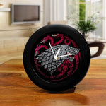 Game of Thrones Fire & Ice Table Clock