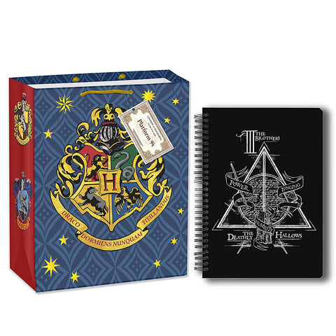 Harry Potter Triangle (A5 Notebook+Gift Bag)