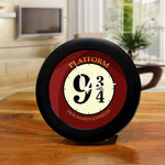 Harry Potter- Hogwarts 9 3/4 Table Clocks