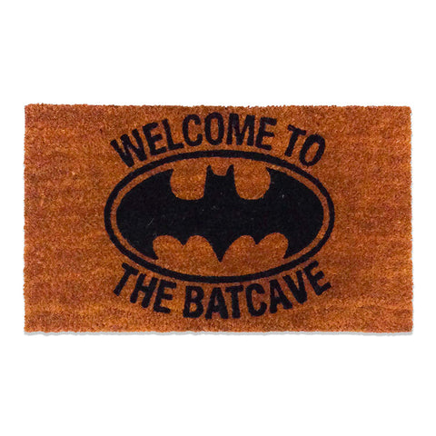 DC Comics Batman Welcome to The Bat Cave Coir Doormat