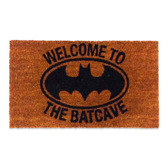 DC Comics Coir Doormat of Batman Welcome to The Bat Cave