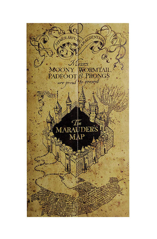 Haryy potter Marauder's Map (Mini, Brown)