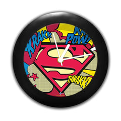 DC Comics -Superman Comic Logo  Table Clock Gift Set Birthday Gift