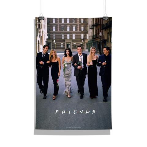 Friends TV Series After Party Poster