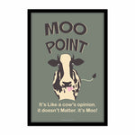 Friends TV Series Moo Point Poster