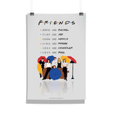 Friends TV Series Umbrella Poster