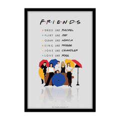 Friends TV  Series merchandise friends tv show poster